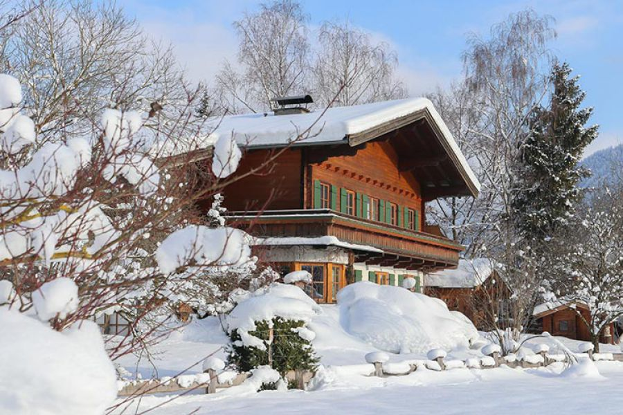 Haus Hohenwarter Lofer Winter